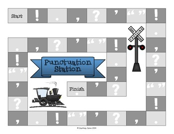 Punctuation Station Board Game