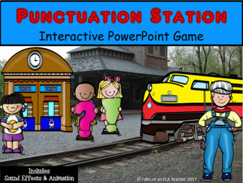 Punctuation Station ~ Interactive PowerPoint Game