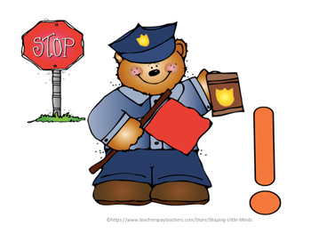 """Punctuation Police- """"Stop that Sentence!"""""""