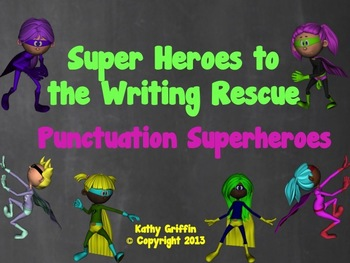 Punctuation Superheroes Video