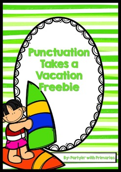 Punctuation Takes A Vacation Freebie