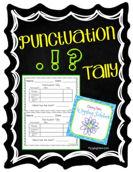 Punctuation Tally Chart