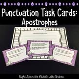Punctuation Task Cards #4 {Apostrophes}