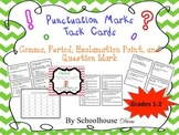 Punctuation Task Cards + Posters (1st-2nd)
