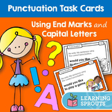 Punctuation Task Cards: Using End Marks and Capital Letters