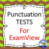 Punctuation Tests for Grammar on Examview