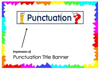 Punctuation Title Banner