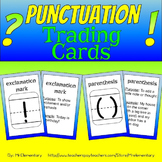 Punctuation Trading Cards
