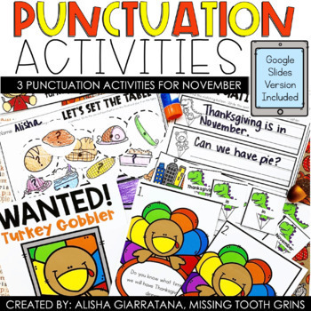 Punctuation Turkey