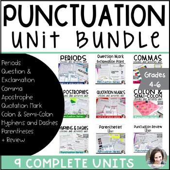 Punctuation Unit Bundle
