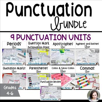 Punctuation Unit Bundle