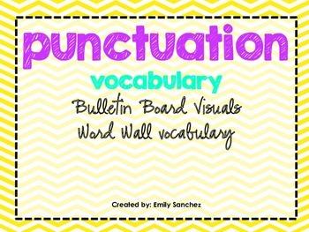 Punctuation Vocabulary