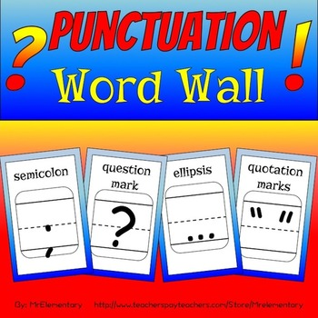 Punctuation Word Wall