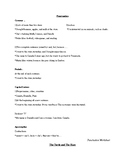 """Punctuation Worksheet (+ story """"Turtle and the Hare"""")"""