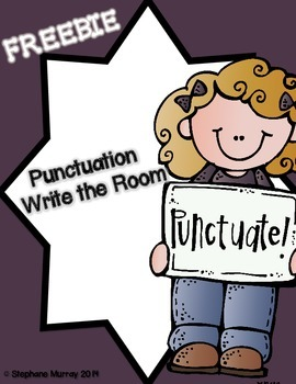 Punctuation Write the Room