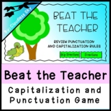 Punctuation and Capitalization Game (Beat the Teacher)