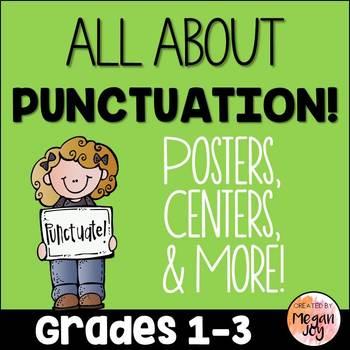 Punctuation Grammar Activities & Printables