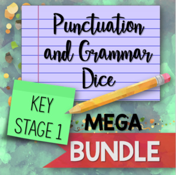 Punctuation and Grammar Dice for Key Stage 1 Mega BUNDLE
