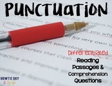 Punctuation and Its Uses Differentiated Leveled Texts and Questions