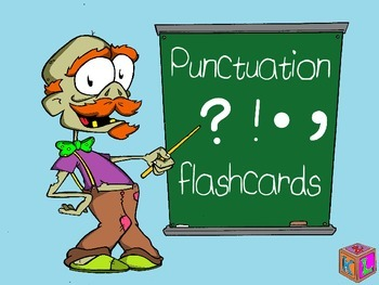 Punctuation flashcards/posters