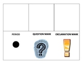 Punctuation foldable template