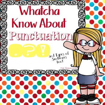 Punctuation for Second Grade