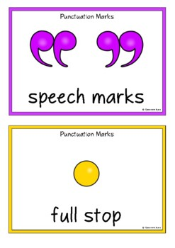 Punctuation in Frames