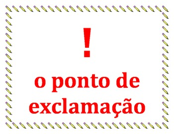 Punctuation in Portuguese Posters