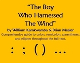 """Punctuation in """"The Boy Who Harnessed The Wind"""" by William"""
