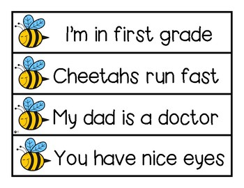 Punctuation is the Bee's Knees