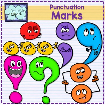 Punctuation marks with expressions