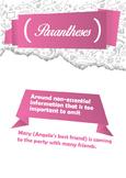 Punctuation poster set. COMPLETE bundle