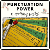Punctuation activity for endings commas and apostrophes