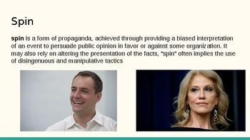 Pundits: debating on television