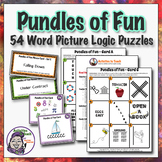 Pundles of Fun - Critical Thinking Task Cards - 54 Pundles
