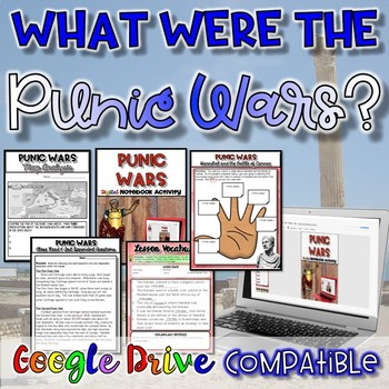 What were the Punic Wars?  {Digital AND Paper}
