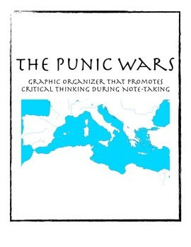 Punic Wars Graphic Organizer for Note-Taking