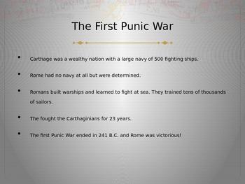 CK 3rd Grade Ancient Rome - Punic Wars
