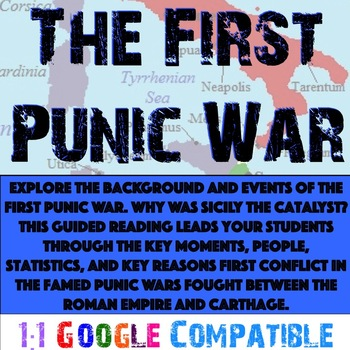 Punic Wars - The First Punic War Guided Reading!