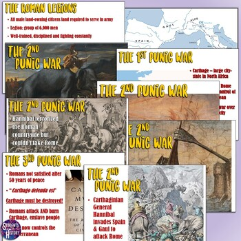 Punic Wars in Ancient Rome Lesson