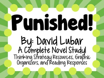 Punished - A Complete Novel Study!