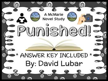 Punished! (David Lubar) Novel Study / Comprehension  (26 pages)