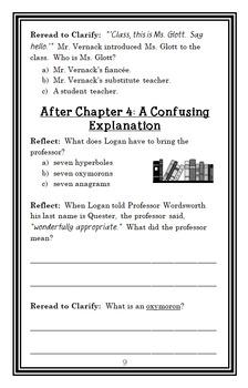 Punished! (David Lubar) Novel Study / Comprehension  (26 pages)