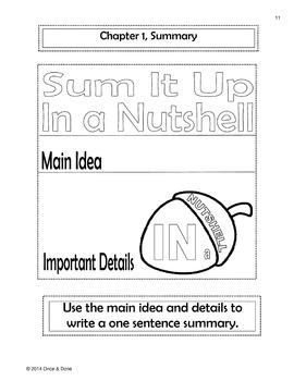 Punished Novel Unit Interactive Notebook focused on Figurative Language