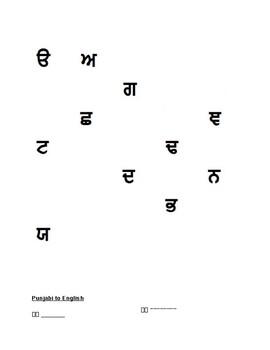 Punjabi Quiz Gurmukhi and Mukta