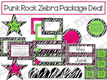 Package Deal: Punk Rock Theme