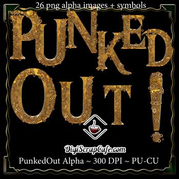 PunkedOut Steampunk Alpha CU