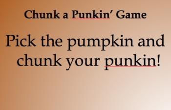 Punkin' Chunkin' Activity!