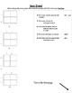 Punnet Square Mendelian Genetics Test