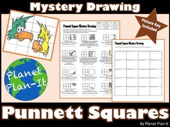 Punnett Square Activity - Mystery Drawing